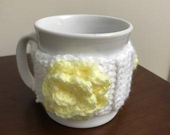 Daisy Mug Cozy / Cup Cozy