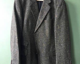 Vintage green wool jacket