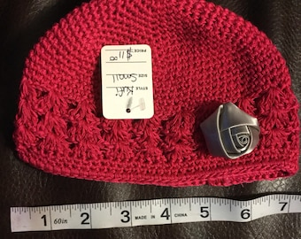 Small Kufi Hat with Embellishment