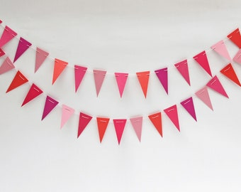 Paper Bunting: Pink