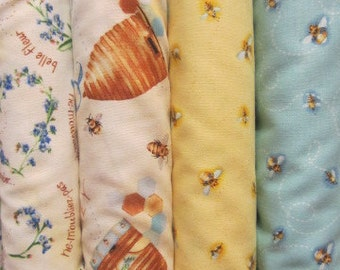 """Quilting Fabric  """"Quilting Bee"""" by  Red Rooster Fabric"""