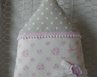 Home cushion Tilda fabric with roses home decor