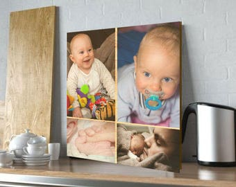 "12"" x 12"" Photo Prints on Natural Birch Wood"