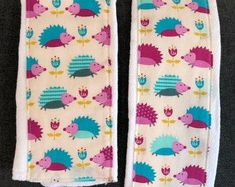 Hedgehogs - Burp cloth