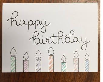 birthday card - customizable