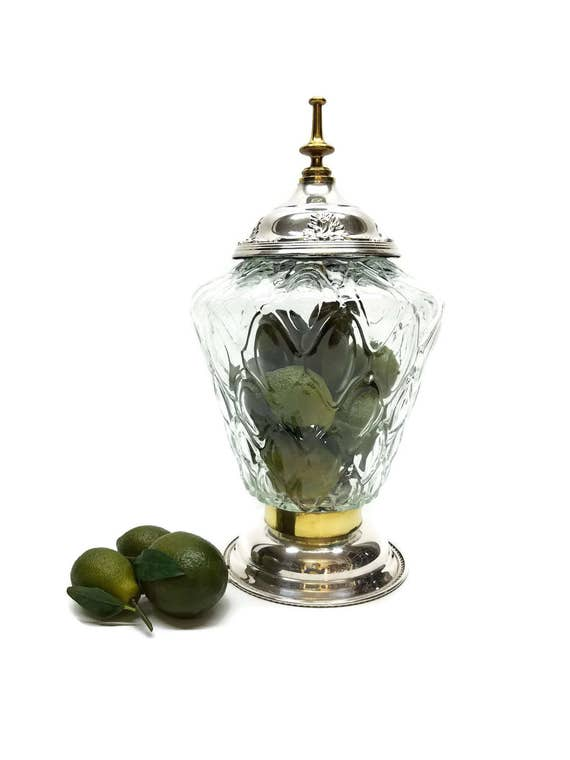 "Wishing Well Wedding Guest Book Apothecary Terrarium Cookie Jar, Collectible, Display Piece-""Ships International"" Email For Rates"