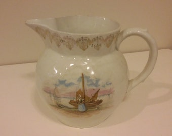 Vintage Colonial Pitcher