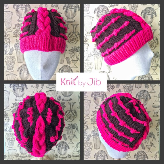 Mohawk Hat Pattern From Knitbyjib On Etsy Studio