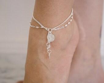 Zara - Gold, Silver or Rose Gold Anklet