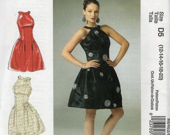 FREE US SHIP McCalls 6463 Generation Next Inset Arms Dress Sewing Pattern Size 12 14 16 18 20 Bust 34 36 38 40 42 Plus Uncut New