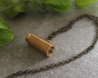 Mariner Telescope pendant chain necklace, Telescope, Mariner, Marine