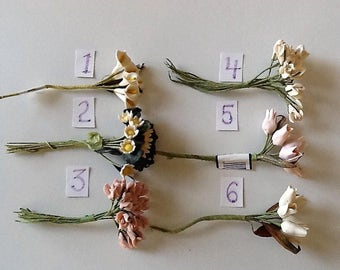 Clay Polymer Flowers by Modern Romance