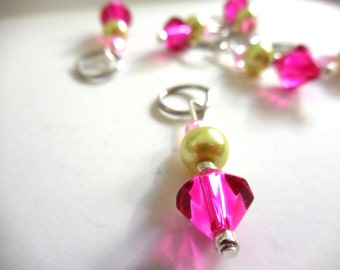 Princess stitch markers by AnniePurl