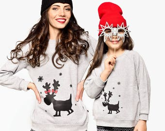 Mom And Daughter Matching Sweatshirts, Mommy And Me Matching Outfit, Matching Set, Matching Mother Daughter Outfit, Matching Mother Gift