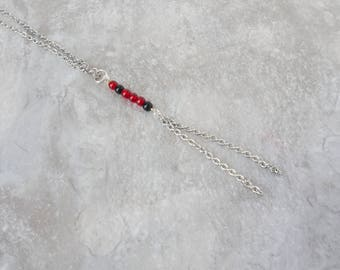 Delicate Necklaces for Women - Simple Y Necklace - Long Necklace Ideas - Dainty Y Necklace - Team Gameday Jewelry - Long Dainty Necklace