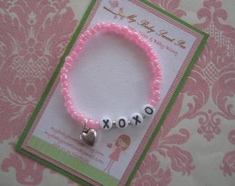 Girl bracelets - childrens Jewlery - valentine bracelets