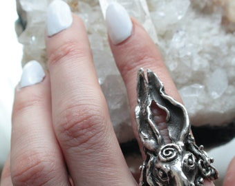 hare ring // 'whisperer'