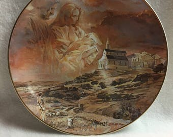 Bethlehem Christmas Collector Plate - 'The First Christmas Eve' (#131)