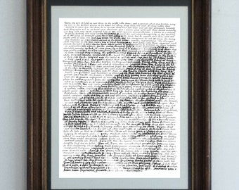 James Joyce, in his own words - a portrait of the Irish writer with an excerpt from the great modern novel of the 20th Century Ulysses