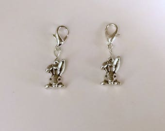 Rabbit Hearing Aid Charms