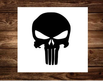 Punisher Marvel Decal