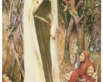 Fairy Once Upon a Time Faery Frameable prints or puzzle
