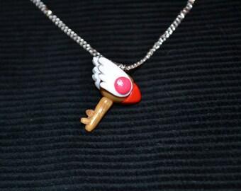 Cardcaptor Sakura Inspired Clow Key Necklace
