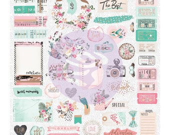 Prima Havana Collection Scrapbook Ephemera New Release