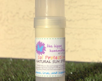 Sol Protection Natural Sun Stick - Natural Sun Protection - Eco Friendly packaging