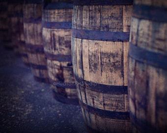 Bar art Whisky Barrels 8x10 print Home Decor Fine Art Photography Scotch Whisky photo Scotland Distillery Bar room Pub art