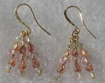 Premiere Collection - Gold Dangle Earrings