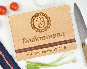 Personalized cutting board, wedding gift, custom cutting board, engraved cutting board, anniversary gift, monogram, housewarming gift.