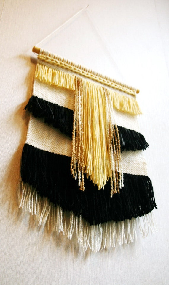 Woven wall hanging Handwoven tapestry Woven tapestry Wall