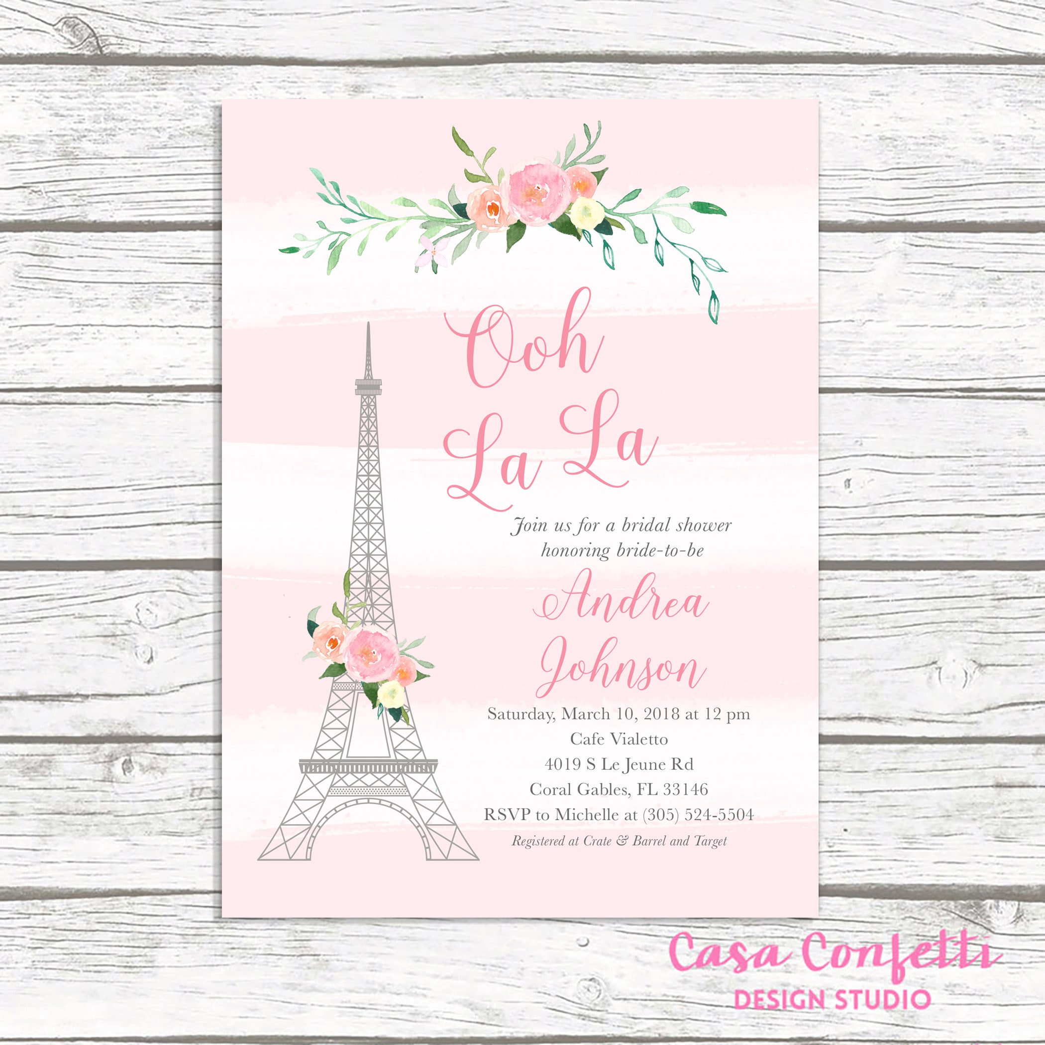 Paris bridal shower invitation french bridal shower invitation paris bridal shower invitation french bridal shower invitation eiffel tower bridal shower invitation ooh la la parisian themed invite filmwisefo