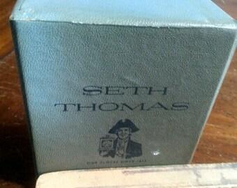 Vintage Seth Thomas clock BOX