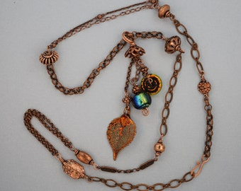 Fringe Pendant Necklace