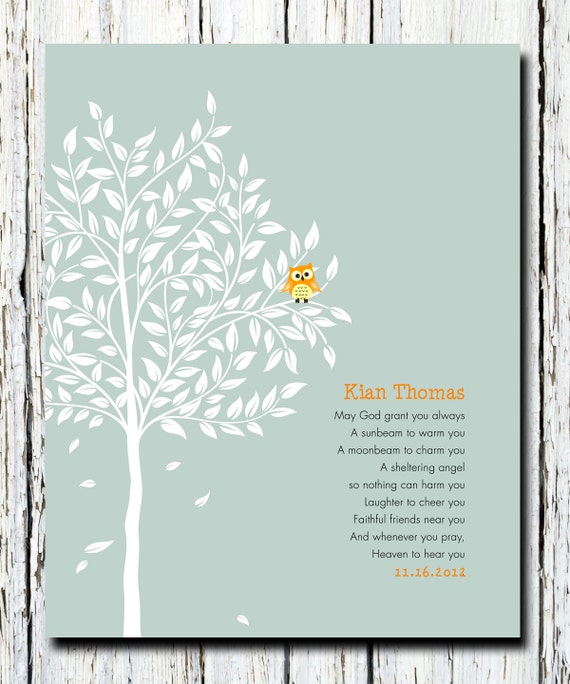 Baptism gift christening gift personalized baby gift negle Image collections
