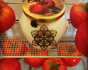 Tomato Leaf Scented Candle