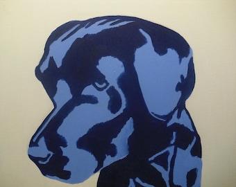 Part 2 Labrador Series - 16x20 Original Oil Painting