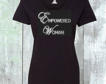 Empowered Woman Sequins Shirt