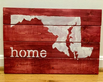 Maryland Home Sign