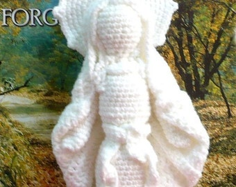 Mother Mary Crochet Amigurumi Pattern Doll Crochet Pattern PDF Instant Download Virgin Mother Mary