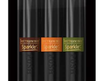 Crafter's Companion Spectrum Noir Sparkle Pens 3pc Set - Falling Leaves