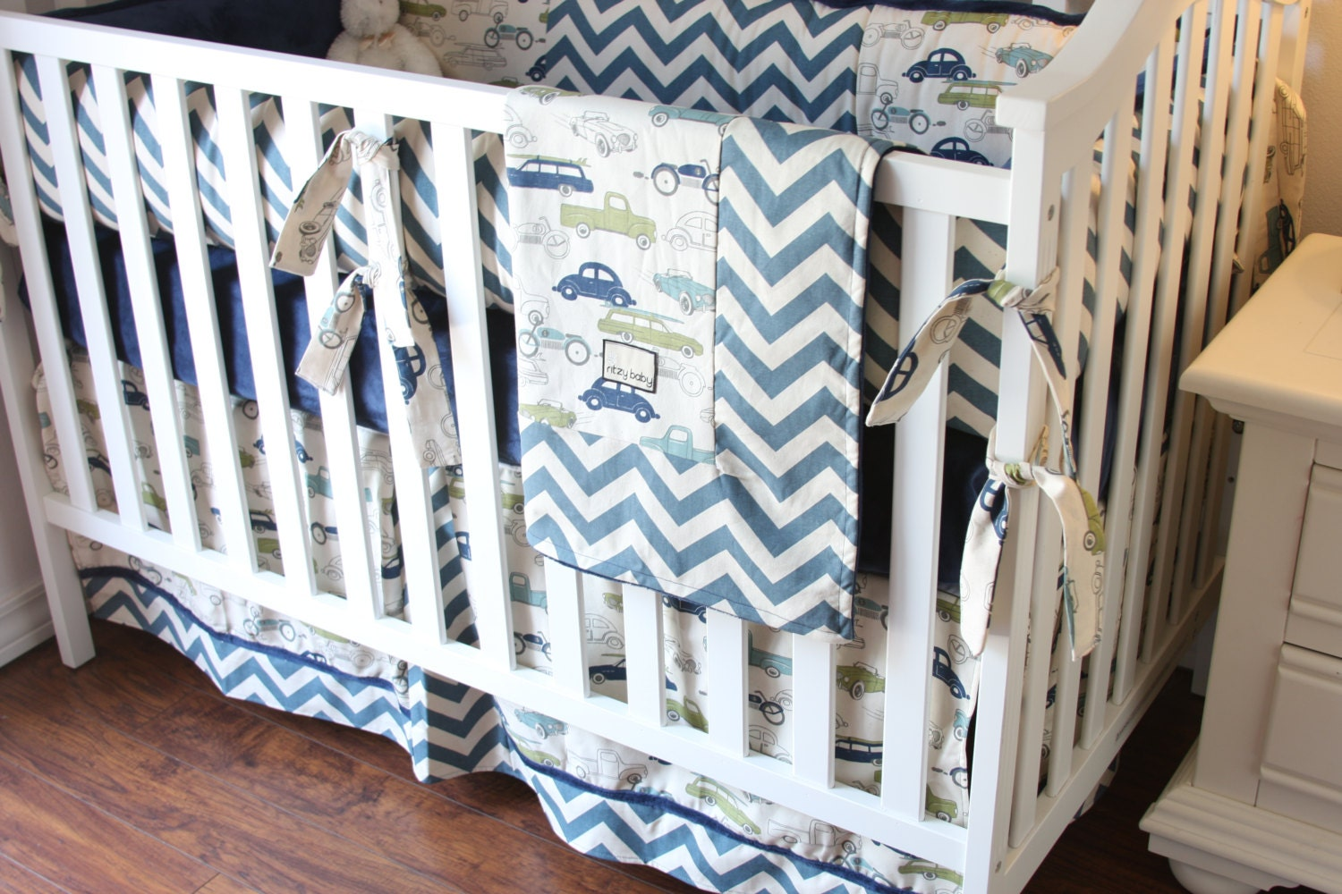 Vintage Boy Nursery Bedding