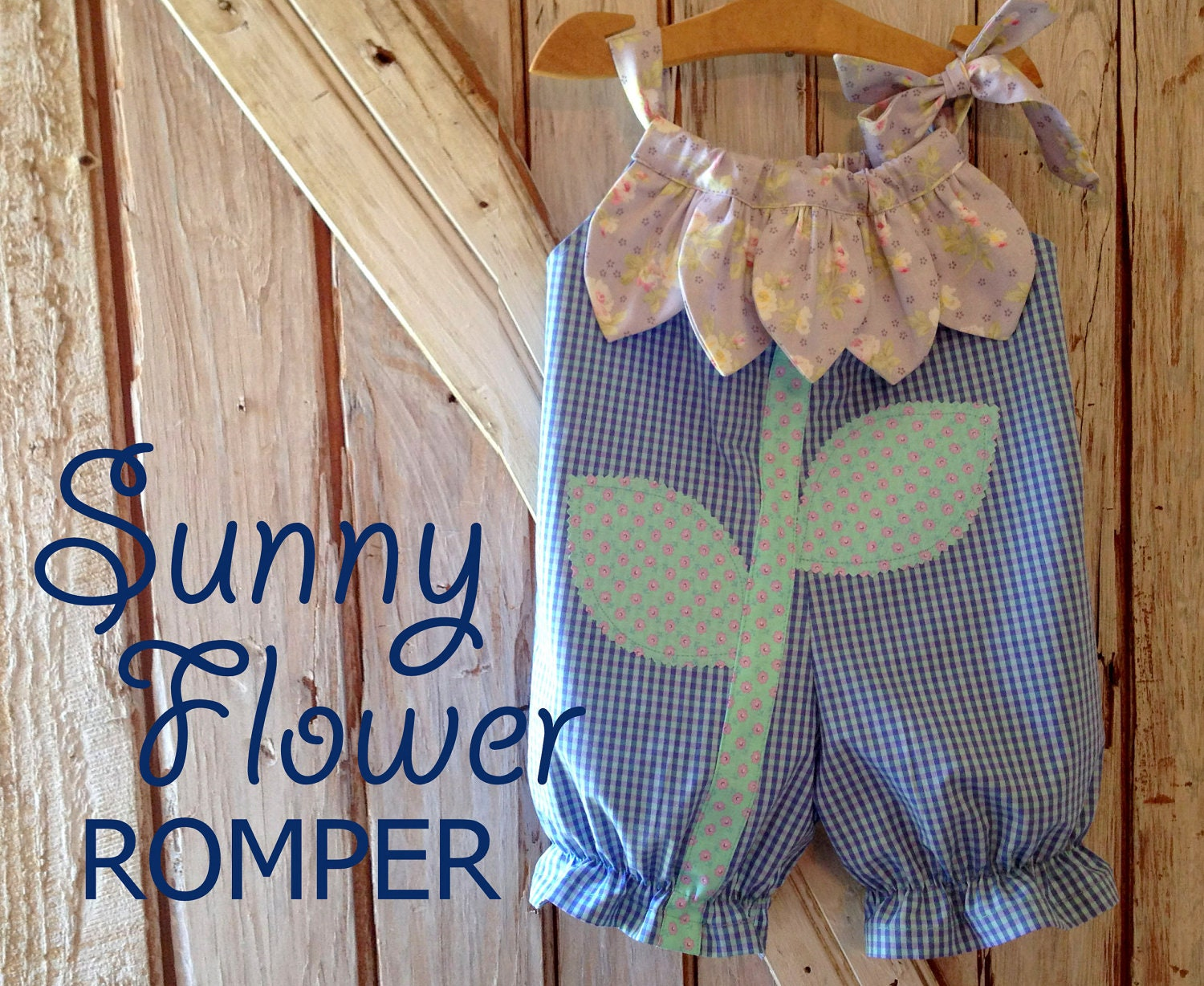 Sunny flower pillowcase romper pattern baby children zoom jeuxipadfo Images