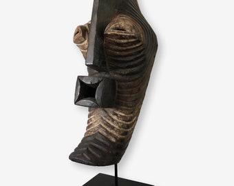Songye Mask on Stand, Congo