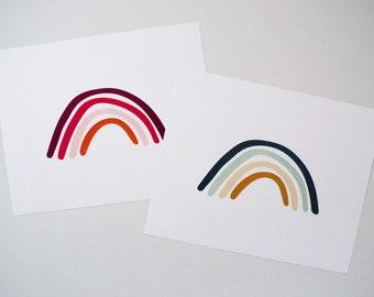 Rainbow Art Print - Rainbows - Wall Decor - Wall Art - Illustrated Rainbow