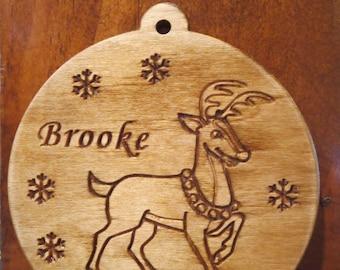 Reindeer Christmas Tree Ornament