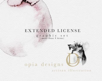 Extended License : OpiaDesigns - Graphic set ( more than 4 items )