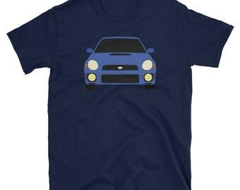 Subaru WRX Bugeye Shirt - Sti Bugeye Shirt, GD Wrx, Subaru Shirt, Impreza, Rally Car Shirt, Sti Shirt, v7 STi Shirt, Subaru Rally Team Gift